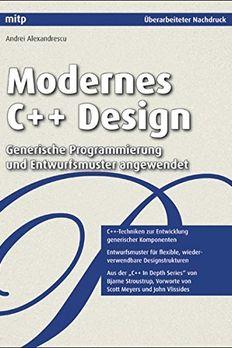 Modernes C++ Design book cover