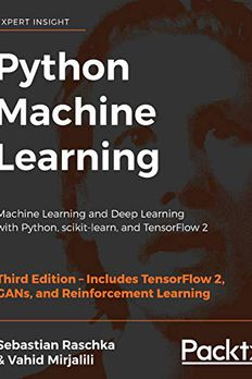Python Machine Learning book cover