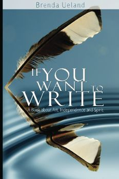 If You Want to Write book cover
