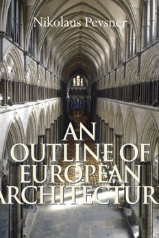 Outline of European Architecture, An book cover