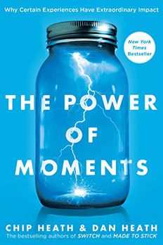 The Power of Moments book cover