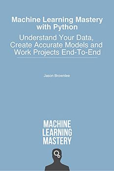 Machine Learning Mastery With Python book cover