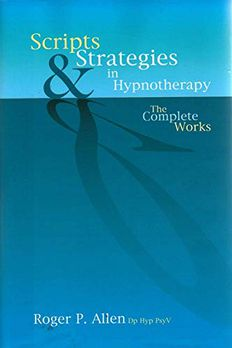Scripts and Strategies in Hypnotherapy book cover