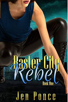 Raster City Rebel book cover