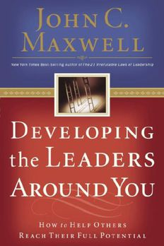 Developing the Leaders Around You book cover