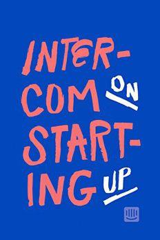 Intercom on Starting Up book cover