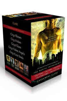 City of Bones/City of Ashes/City of Glass/City of Fallen Angels/City of Lost Souls book cover