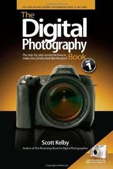 The Digital Photography Book by Kelby, ScottEdition [Paperback] book cover