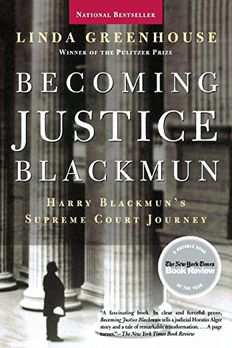 BECOMING JUSTICE BLACKMUN book cover