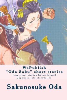 "WePublish ""Oda Saku"" short stories book cover"