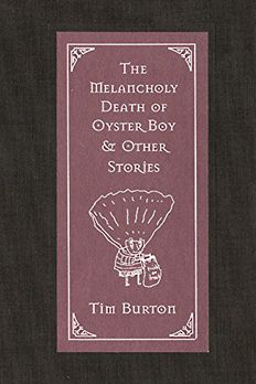 The Melancholy Death of Oyster Boy & Other Stories book cover