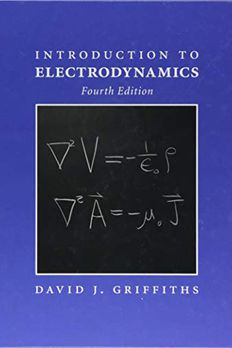 Introduction to Electrodynamics book cover