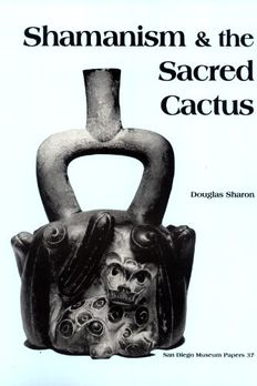 Shamanism & the Sacred Cactus book cover
