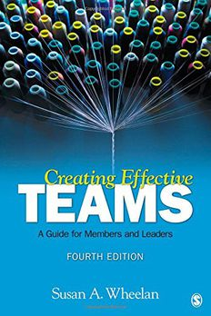 Creating Effective Teams book cover