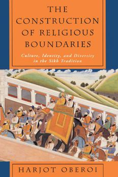The Construction of Religious Boundaries book cover
