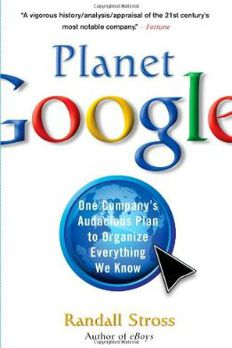 Planet Google book cover
