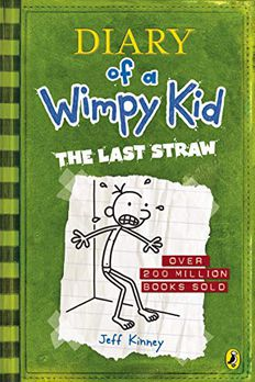 Diary of Wimpy Kid. The Last Straw book cover