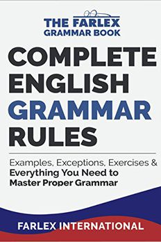 Complete English Grammar Rules book cover