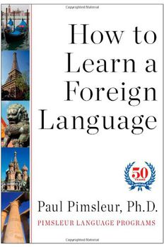 How to Learn a Foreign Language book cover