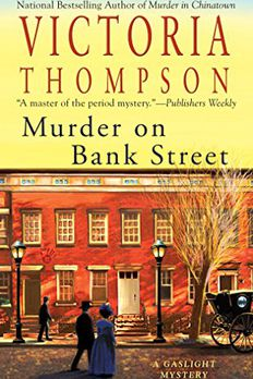 Murder on Bank Street book cover