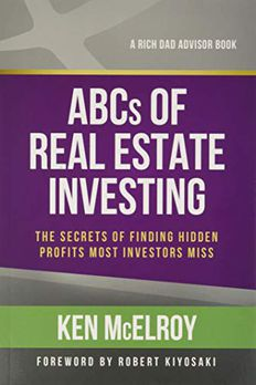 The ABCs of Real Estate Investing book cover