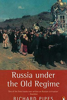 Russia under the Old Regime book cover
