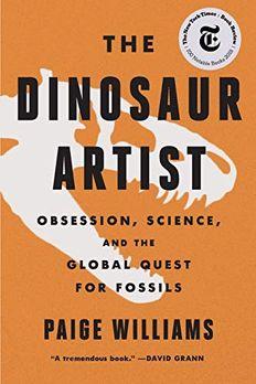 The Dinosaur Artist book cover