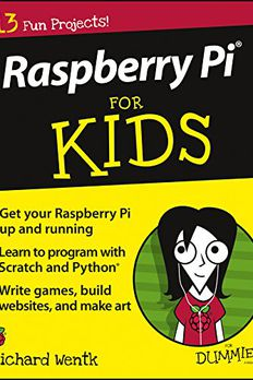 Raspberry Pi For Kids For Dummies book cover