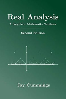 Real Analysis book cover