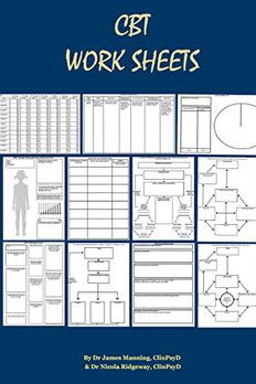CBT Worksheets book cover