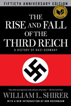 The Rise and Fall of the Third Reich book cover