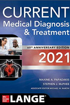 Current Medical Diagnosis and Treatment 2021 book cover