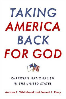 Taking America Back for God book cover