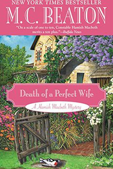 Death of a Perfect Wife book cover