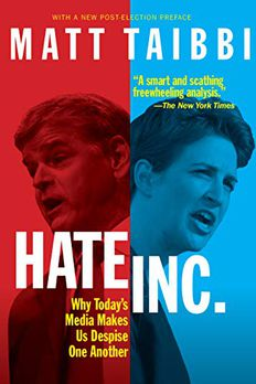 Hate, Inc. book cover