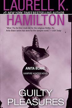 Guilty Pleasures Anita Blake, Vampire Hunter book cover