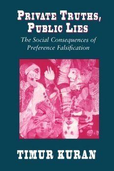 Private Truths, Public Lies book cover