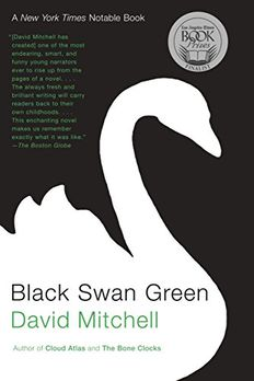 Black Swan Green book cover