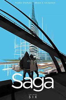 Saga Volume 6 book cover