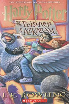 Harry Potter And The Prisoner Of Azkaban book cover
