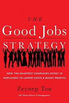 The Good Jobs Strategy book cover
