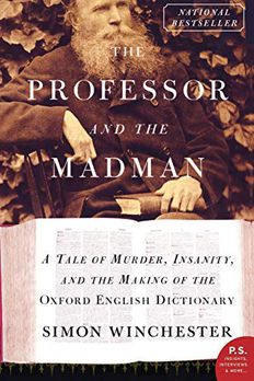 The Professor and the Madman book cover
