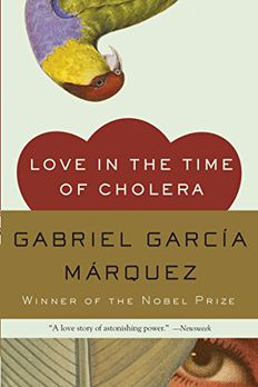 Love in the Time of Cholera book cover