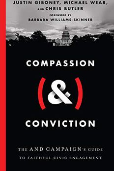 CompassionConviction book cover