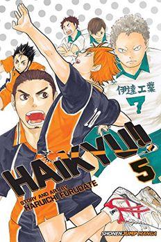 Haikyu!!, Vol. 5 book cover