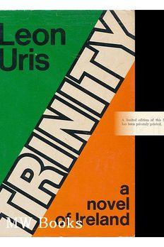 By Leon Uris Trinity [Hardcover] book cover