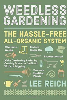 Weedless Gardening book cover