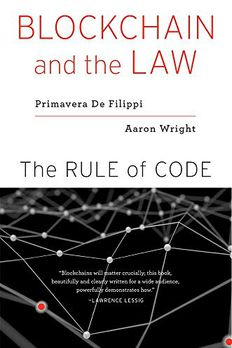 Blockchain and the Law book cover