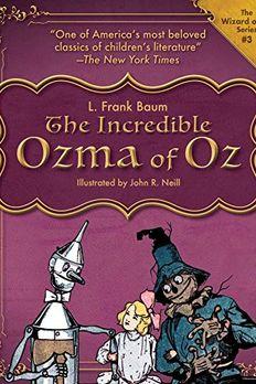 Ozma of Oz book cover