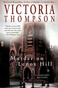 Murder on Lenox Hill book cover